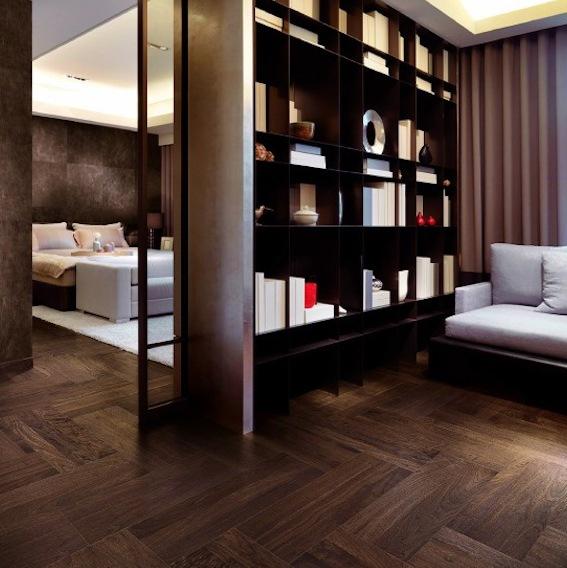 Herringbone Oak floor